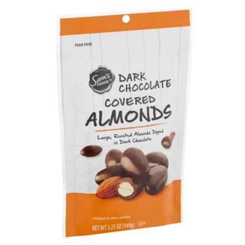 Sam's Choice Dark Chocolate Covered Almonds, 5.25 oz