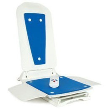 Bathmaster Deltis Bath Lift and Accessories with Blue Cover and Premium Charger