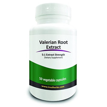 Real Herbs Valerian Root Extract Supplement 60 X 450mg Softgel Capsules - Helps in Relaxation