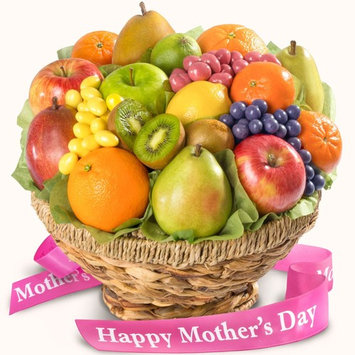 Mother's Day Fresh Fruit & Gourmet Chocolates In Keepsake Basket [Mother's Day]
