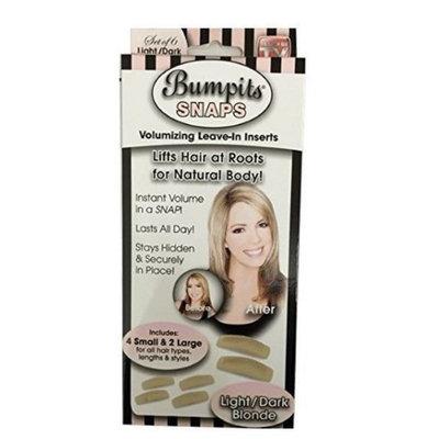 Toner Depot New Bumpits Snaps Hair Volumizing Leave-in Inserts Dark Brown/black light Blonde