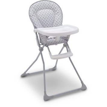 Delta Children Delta EZ-fold Glacier Metal Children's High Chair