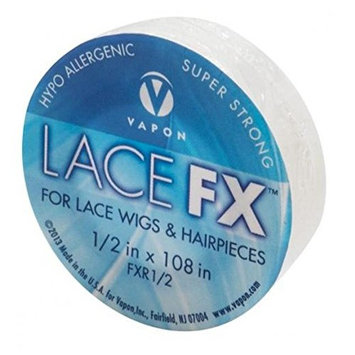 Vapon Lace FX 1/2 Inch X 3 Yards Double Sided Tape For Wig and Toupee | Made in the USA
