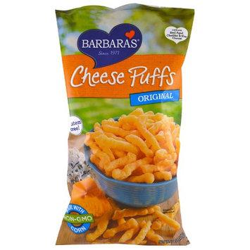 Barbaras Barbara's Bakery, Cheese Puffs, Original, 7 oz (pack of 4)