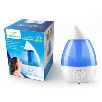Alphabetdeal. Best Cool Mist Ultrasonic Humidifier & Diffuser for Essential Oils