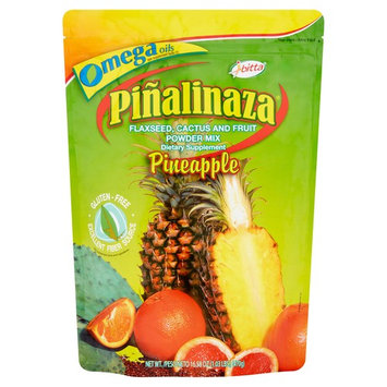 Pialinaza Drink Mix, Pineapple Flaxseed Cactus, 16.58 Oz, 1 Count