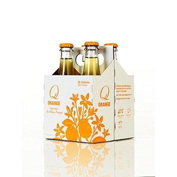 Q Mixers, Q Orange, Sparkling Orange Soda, 9 Ounce Bottle (Pack of 24)