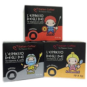 Italian Coffee - Olympus - Nespresso® compatible capsules (Poseidon/Zeus/Aphrodite, 240 capsules)