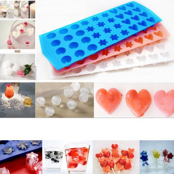 Symak Sales Lot 3 Mini Ice Cube Trays Makes 108 Home Bar Drinks Jelly Cubette Candy Mold Fun