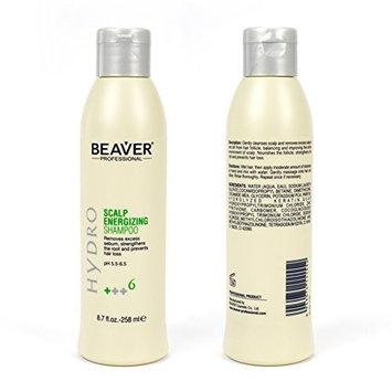 Beaver Scalp Energizing Shampoo Hydro +++6 (258 ml x 2) by Beaver Professional