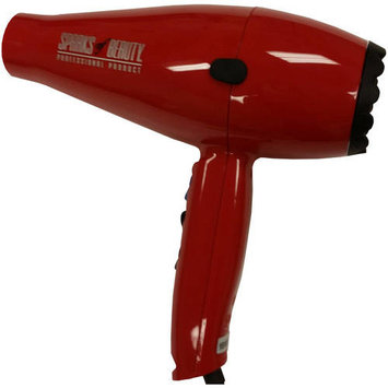 Sparks of Beauty Model 300 Hair Dryer, Red