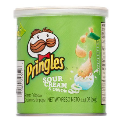 Pringles Sour Cream and Onion Small Stacks, 1.41 Ounce, 12 count