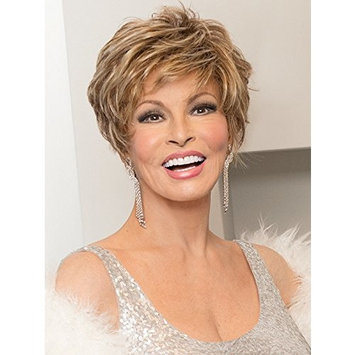Sparkle Elite Wig by Raquel Welch Wigs Monofilament Lace Front Textured Layers - SS8/29