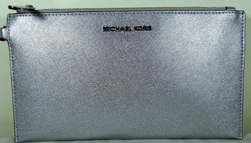Fossil Michael Kors Jet set travel silver pouchette, Silver