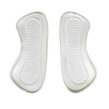 Chuzhao Wu Transparent Gel Heel Liner Feet Insole Shoe Pad Heel Stick Soft Cushion For Ladies(Pack Of 3 Pairs)