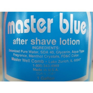 Master Well Comb After Shave Lotion Musk 1 Gallon