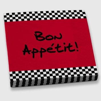 Epic Products Bon Appetit! Beverage Napkins (20 Pack), Multicolor