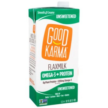 Protein Flax Milk - UNSWEETENED by Good Karma at the Vitamin Shoppe