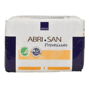 Abena Abri-San Premium Incontinence Pads, Size 1 - Mono, 28 Count