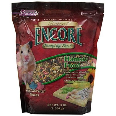 Fm Brown's Brown's Encore Gourmet Hamster Food