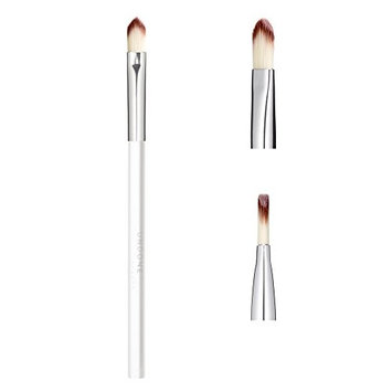 Handcrafted Angled Lip Brush for Precise Definition & Fullness – UNDONE BEAUTY Precision Brush. Easy to Use. For Cream & Powder. Soft & Durable Bristles. Vegan & Cruelty Free.