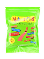 Makin's No Bake Polymer Clay 60 g, red [pack of 6]