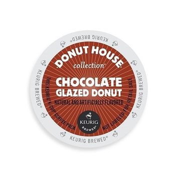 Donut House Collection Light Roast K-Cup for Keurig Brewers, Chocolate Glazed Donut Coffee Pack of 4 (24 count each)