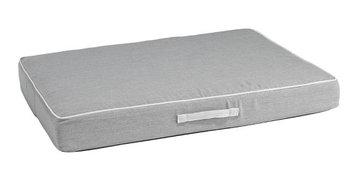 Bowsers Pet Products Bowsers Sunbrella Rectangular Patio Pet Cushion Heather Grey, Size: Large