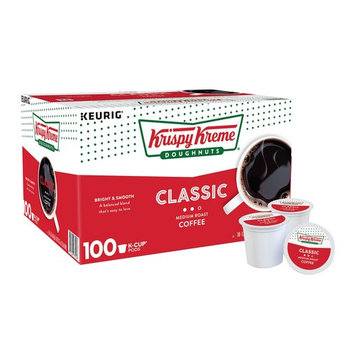 Krispy Kreme Donuts Bright and Smooth Medium Roast Coffee, 100 ct.
