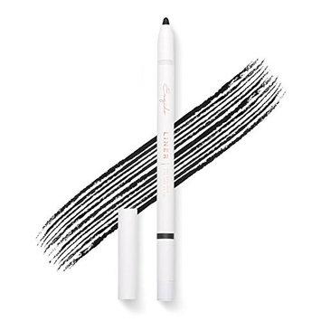 Gel Eyeliner Pencil (Black) - Long lasting, waterproof, pigmented and smooth, built-in sharpener, best eye liner pen
