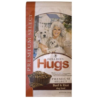 Hugs Pet Products Paula Dean Premium Select Dog Food Beef and Rice 22.5 lbs.
