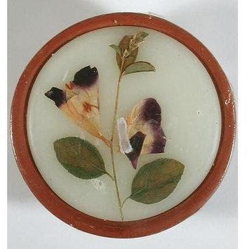 Auroshikha Candles & Incense Auroshikha - Round Flower Candle, Tuberose, Medium, 1 ea