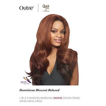 Outre Quick Weave Synthetic Half Wig Batik Bundle Hair DOMINICAN BLOWOUT RELAXED