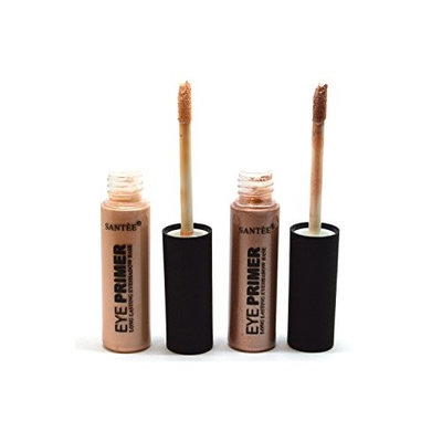 Santee Eye Shadow Primer Long Lasting Eyeshadow Base Nude & Brown BeutiYo + Free Earring