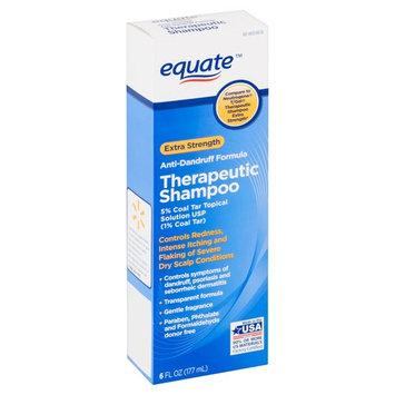 Equate Anti-Dandruff Therapeutic Shampoo, Extra-Strength, 6 fl oz
