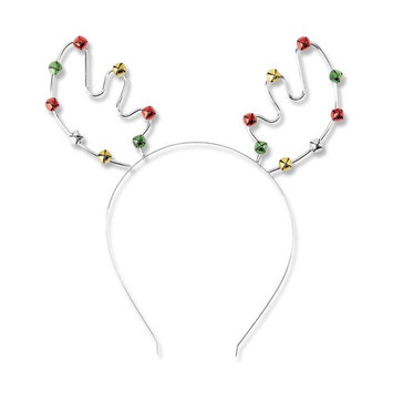 Covington Antler-Bell Holiday Headband