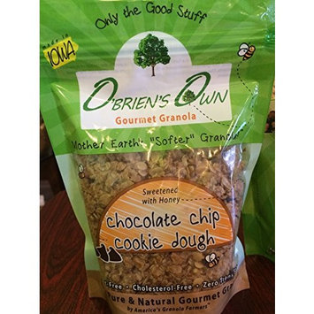 O'Brien's Own Gourmet Granola (Chocolate Chip Cookie Dough) 12 oz. bags, 3 count