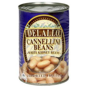 Delallo Beans Can-Cannellini -Pack of 12