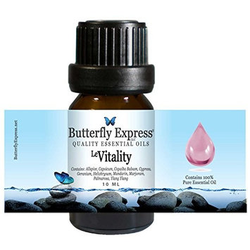 Le Vitality Essential Oil Blend 10ml - 100% Pure - by Butterfly Express