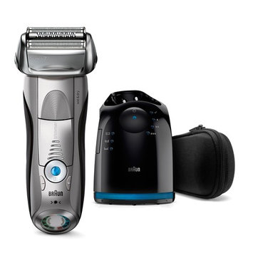 Braun Premium Wet & Dry All-in-One Turbo-Powered Universal Voltage Shaver & Beard Trimmer