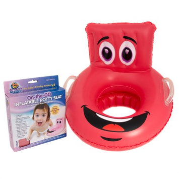 On-the-go Inflatables Llc Red Character Potty Seat