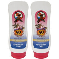 Australian Gold SPF 50 Baby Sunscreen Lotion (Pack of 2)