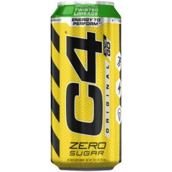 C4 Sparkling On The Go - TWISTED LIMEADE (12 Drinks) by Cellucor at the Vitamin Shoppe