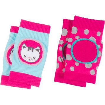 Peds Newborn Baby Comfy Crawlers Knee Pads, 2 Pairs, One Size
