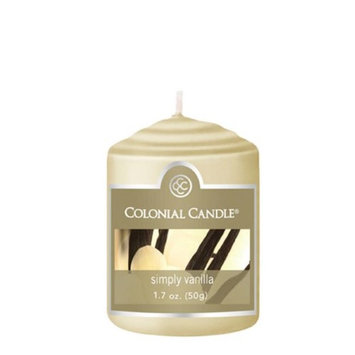 Classic Wax CC015.1339 Votive Simply Vanilla Candles Pack of 18