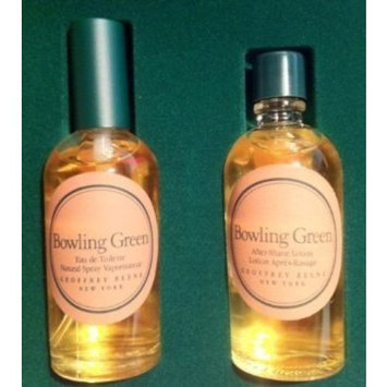 Bowling Green 2-Piece Gift Set: 2.0 Oz Eau De Toilette Spray + 2.0 Oz After Shave Lotion (New in Damaged Box)