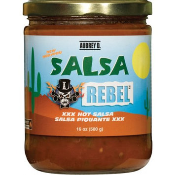 Classic salsa - Mexican fresh peppers, tomatoes and onions in the Red Hot Aubrey D. Salsa - tickle your tongue with a zesty zing
