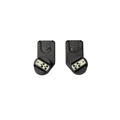 Quinny Zapp Xtra Stroller Replacement Car Seat Adapters, Black
