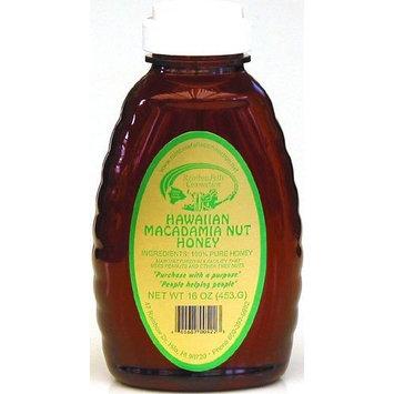 Hawaiian Macadamia Nut Honey, 16-Ounce bottle (Pack of 12)