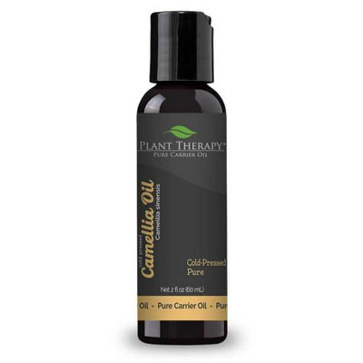 Plant Therapy Essential Oils Camellia Seed Carrier Oil. 2 oz. A Base Oil for Aromatherapy, Essential Oil or Massage use.